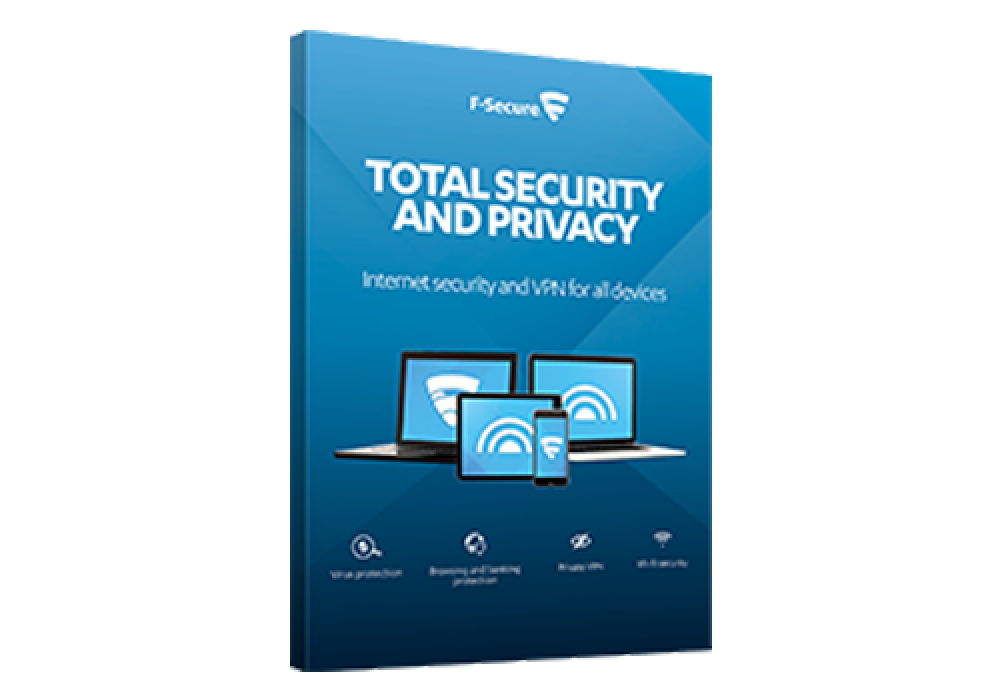F‑SECURE TOTAL SECURITY AND PRIVACY